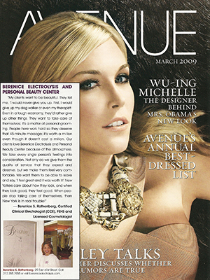 AVENUE MAGAZINE - March 2009 - Tinsley Mortimer