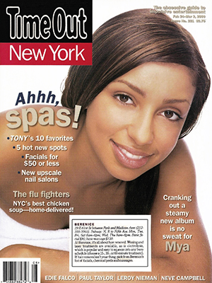 TIME OUT NEW YORK MAGAZINE - February 24, 2000 to March 2, 2000 - Mya