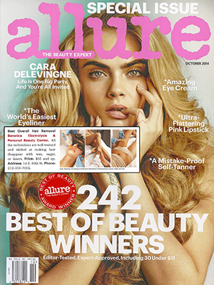 ALLURE - THE BEAUTY EXPERT - 242 Best of Beauty Winners - October 2014 - Cara Delevingne