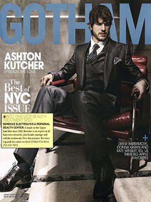 GOTHAM MAGAZINE - August 2009 - Ashton Kutcher