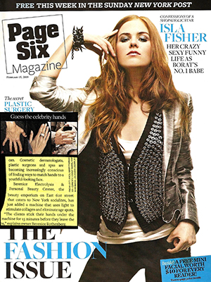 PAGE SIX MAGAZINE - February 2009 - Isla Fisher