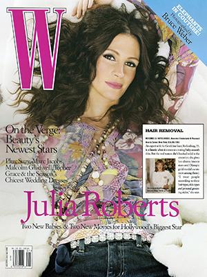 W MAGAZINE - January 2005 - Julia Roberts