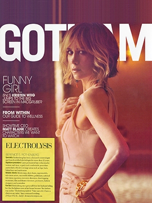 GOTHAM MAGAZINE - August 2010 - Kristen Wiig