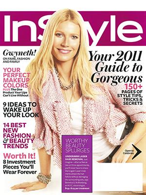 INSTYLE MAGAZINE - January 2011 - Gwyneth Paltrow