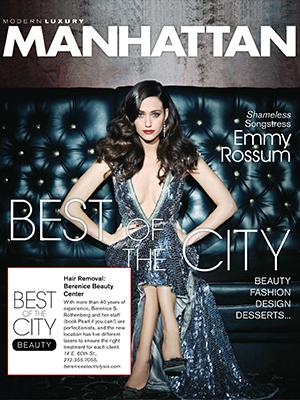 MODERN LUXURY MANHATTAN MAGAZINE - January / Febraury 2013 - Emmy Rossum