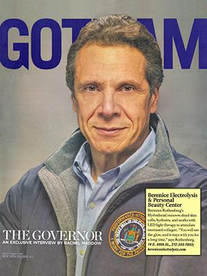 GOTHAM MAGAZINE - Winter 2013 - The Governor Andrew Cuomo